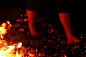 sacred firewalking walk through life fearlessly